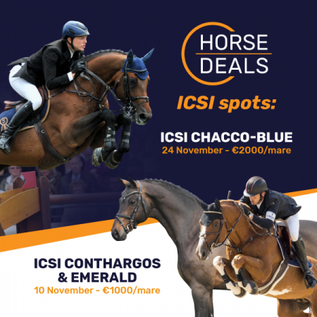 ICSI met Conthargos - Emerald - Chacco Blue : make your pick!
