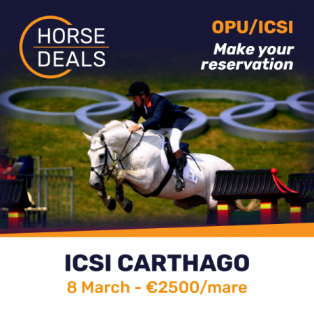 ICSI with Carthago on March 8